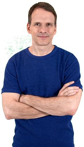 Ralf Michael, der Autor des Lebensfreude-Briefs