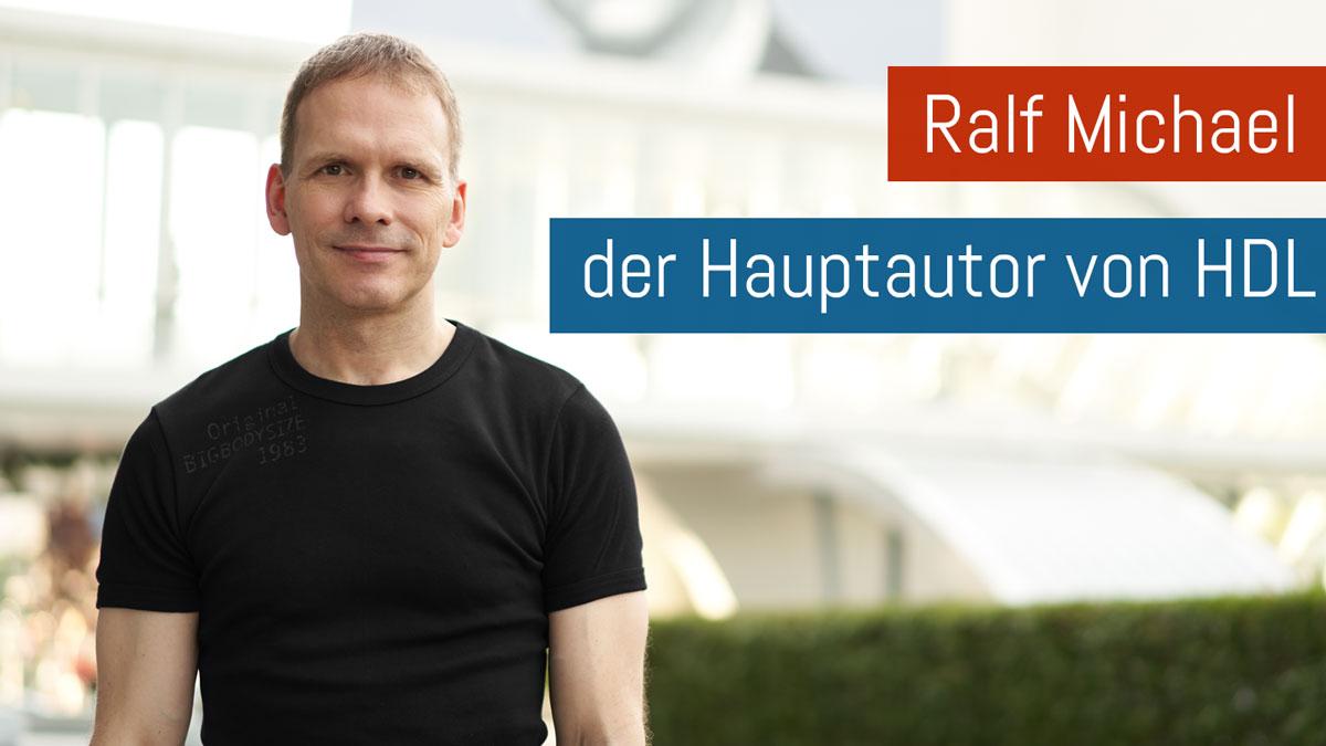Portraitfoto Ralf Michael